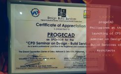 progeCAD Supports UAP CPD Design Build Seminar Launch