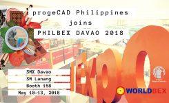 progeCAD Philippines Joins PhilBex Davao 2018