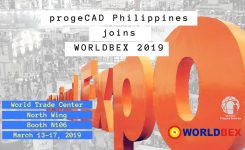 progeCAD Philippines inbound to Worldbex 2019